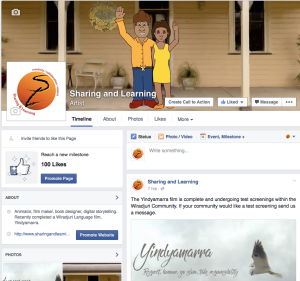 sharing and learning facebook